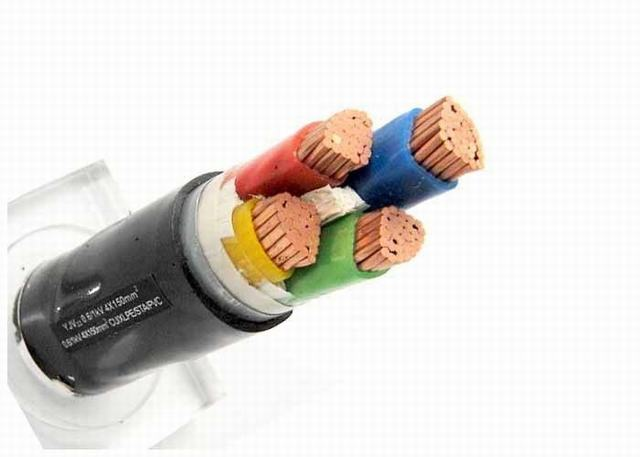 4 Core Armoured Electrical Cable 0.6 /1kv Double Steel Tape