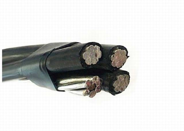 Al/XLPE (PE) Insulated ABC Cable 0.6/1 Kv (BS 7870-5) for Overhead Distribution Lines