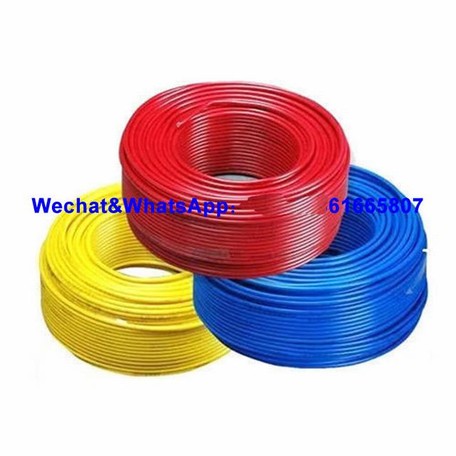 All Sizes PVC XLPE Copper Wire Prices 300/500V Power Cable 10mm, 2.5mm 3X4mm2 Cotton Cable Electrical Wire Cable