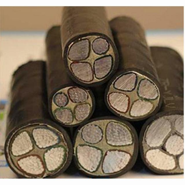 Aluminum or Copper Conductor, 3+1 Core, XLPE or PVC Insulated Power Cable