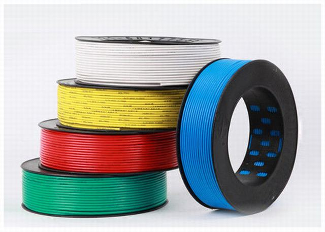 Colored Single Wire Cable PVC Insulation Wire 70º C Max Conductor Temperature