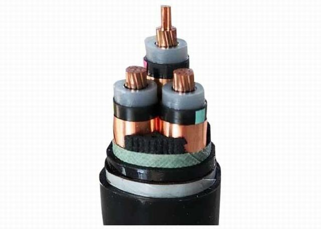 Double Steel Wire Armoured Electrical Cable High Voltage 3 Phase