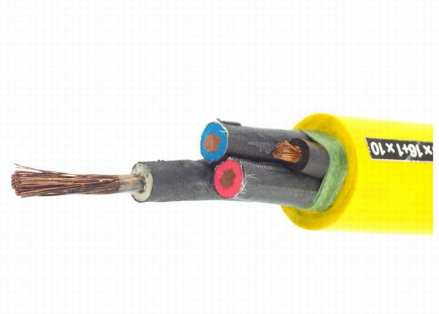 Household / Commercial Rubber Sheathed Cable High Precision 16mm2 - 185mm2 Phase