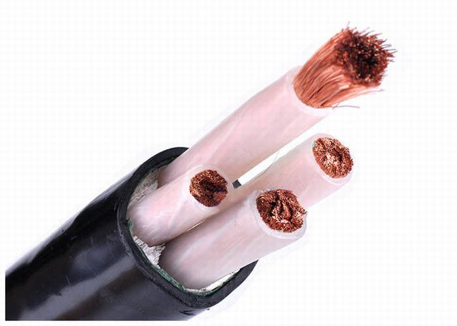 Low Voltage XLPE Insulated Power Cable IEC 60228 Class 5 Copper Conductor PVC Sheath
