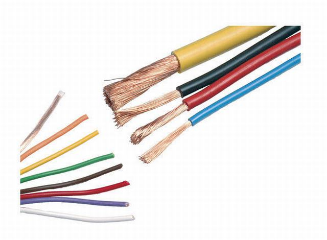 PVC Insulated Electrical Cable Wire Nylon Sheathed Thhn 0.75 Sq mm - 800 Sq mm