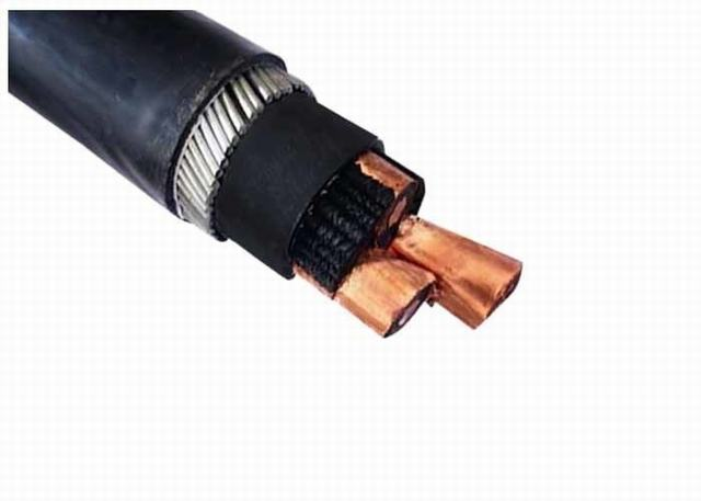 Single Cores XLPE Insulated Power Cable Low Smoke Halogen