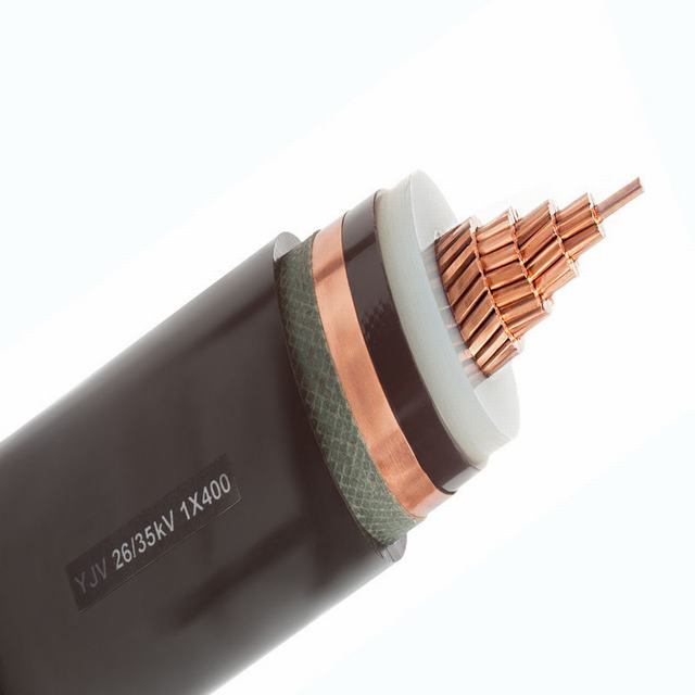 XLPE Insulated Electric Cable 0.6/1kv Copper/ Aluminum Conductor 1 Core 185mm2 PV Cable ABC  Cable XLPE Insulation