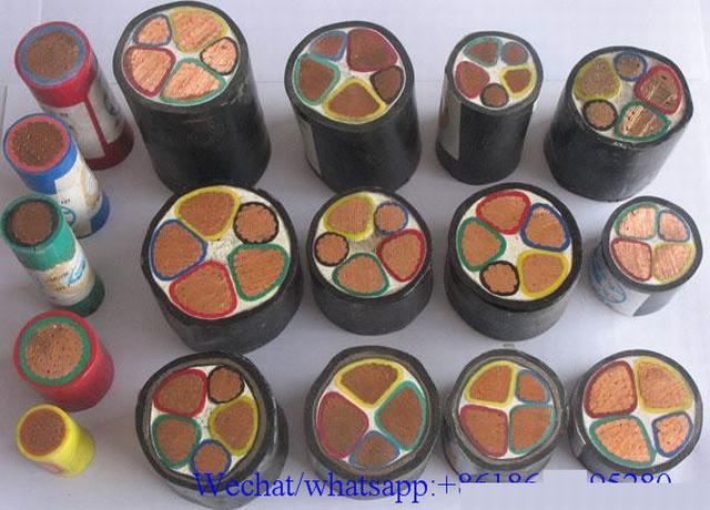 XLPE Insulated Power Cable High Voltage Cable Electric Cable