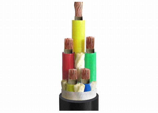 XLPE Insulated Power Cable PVC Outer Sheath Fire - Resistant