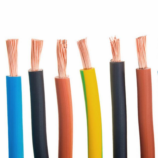 0.5mm 1.5mm 2mm 2.5mm 4mm House Bulding Wiring H03vvh2-F H05V-K H07V-U Tw Thw Solid Copper PE XLPE PVC Insulated PVC Sheathed Electircal Cable Electric Wire
