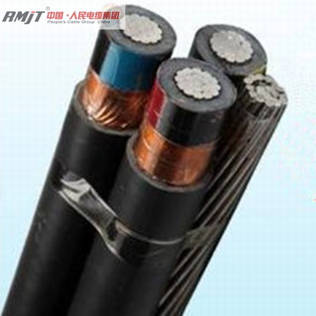 11kv Overhead Aluminum Core XLPE Insulated Aerial Bundle ABC Cable