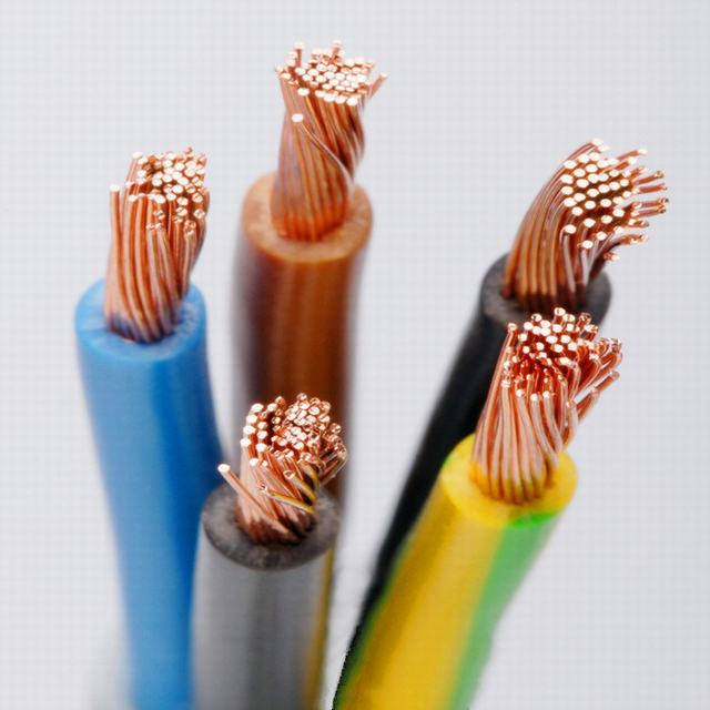 2.5mm 4mm 6mm 10mm 16mm Rvv Single Core Copper Wire PVC Electrical Flexible Wire and Electric Cable