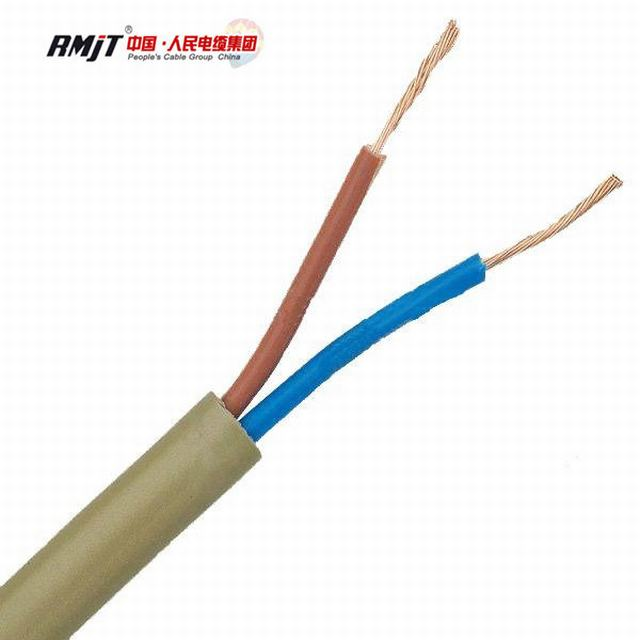 300/300V Copper Conductor PVC Insulated Flat Flexible Wire