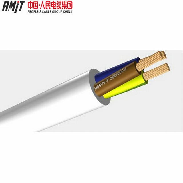 300/500V Copper/CCA Conductor PVC Insulation H05VV-F Flexible Cable