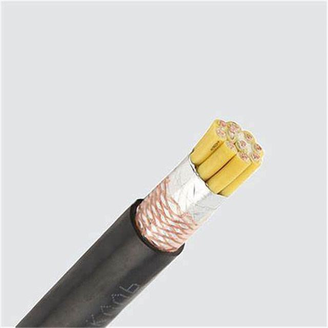 450/750V Copper Conductor PVC Insulated Copper Wire Braided Control Cable