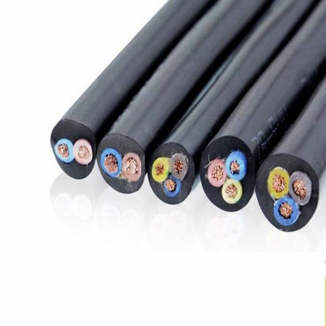 450/750V Yzw Yh Yc Ycw H07rn-F H05rn-F Low Voltage Silicone Rubber Insulated Sheathed Flexible Electric Wires Copper Conductor Power Cables Rubber Welding Cable