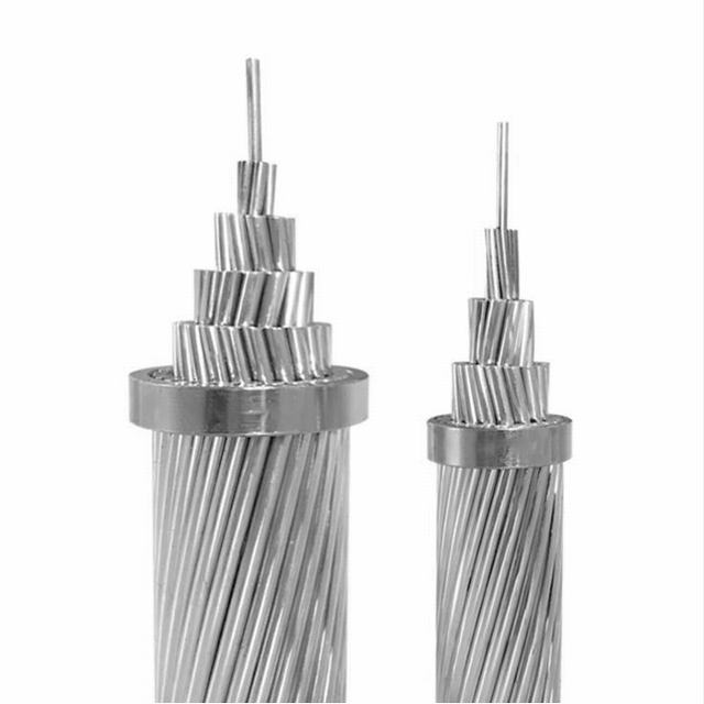 Bare ACSR Cables All Aluminum Alloy Stranded Bare AAAC Conductor IEC61089