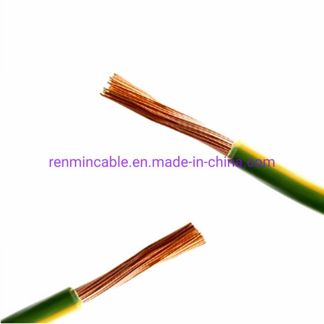 Best Quality 4mm Copper Conductor PVC Insulated Bvr Flexible Electric Cable Wire