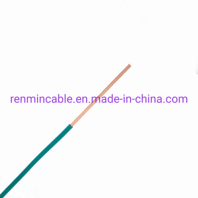 Building Wire PVC Insulated Copper Conductor Electrical Wire