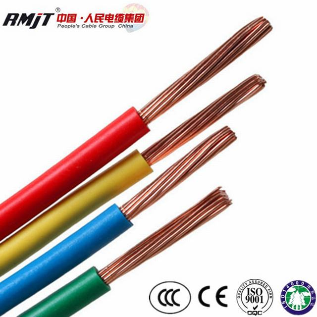 Copper Conductor PVC Insulated BV/BVV/RV/Rvv Electrical Kable Wire