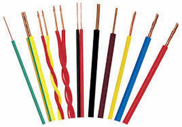 Copper Core Flexible Electrical Wire Cable BV BVVB Bvr 2.5 mm 4 mm 6 mm