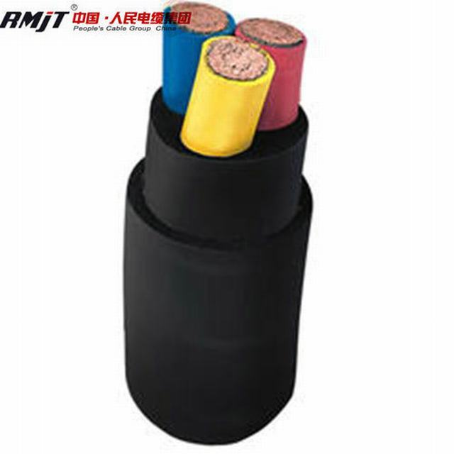 Factory Price Heat, Oil and Flame Retardant Flexible Rubber Cable