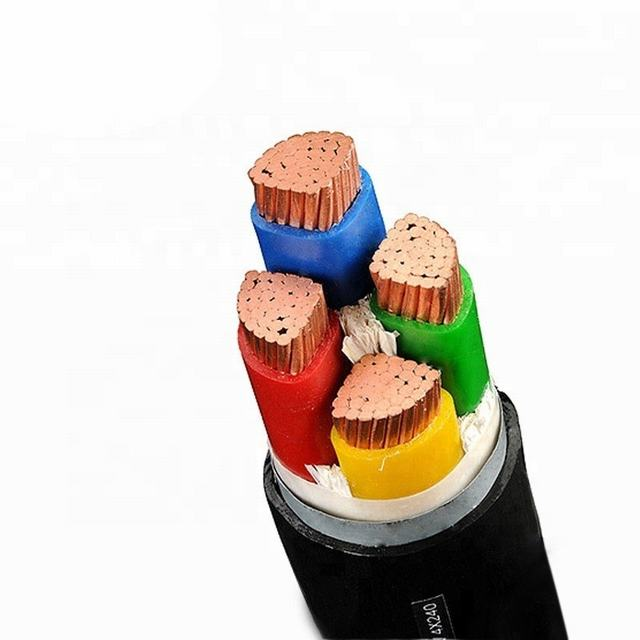 High Quality 0.6/1kv Medium Voltage PVC Insulated VV22 Amoured Wire Power Cable