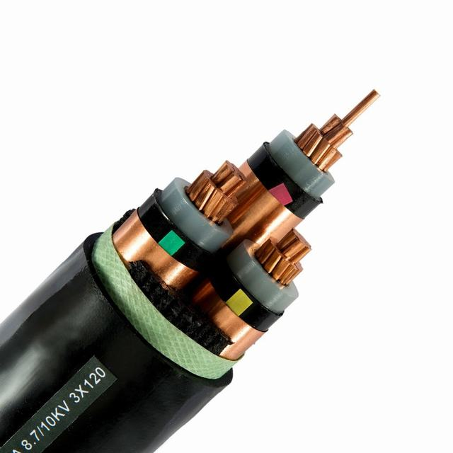 LV XLPE Copper Cable Copper Tape Screen Cable Underground Power Cable