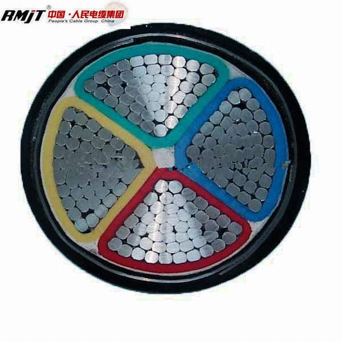 Low Voltage Aluminum Power Cable 4X50mm2 4X35mm2 Al/XLPE/Swa/PVC Yjlv22 Power Cable