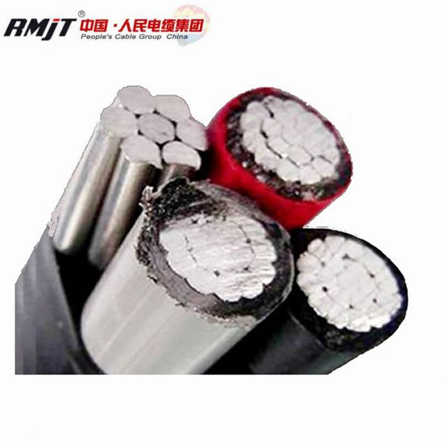 Low Voltage Electric Power XLPE PVC Insulated Overhead Aluminum ABC Cable