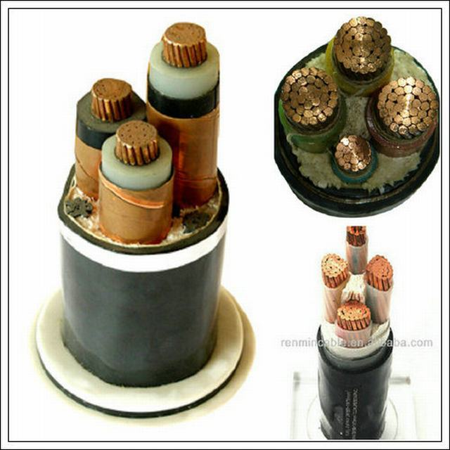Medium Voltage XLPE/PVC Insulated Armored Power Cable