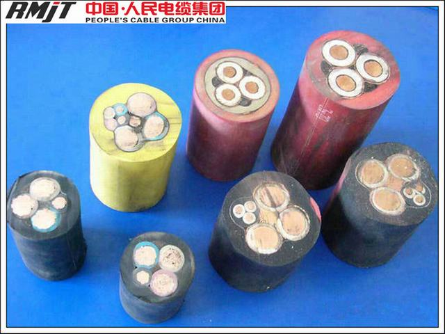 Rubber Insulation and Sheathed Mining Usage Fleixble Rubber Welding Cable