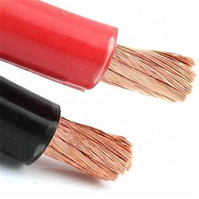 Rubber Sheath Insulation Welding Cable Underground Power Cable