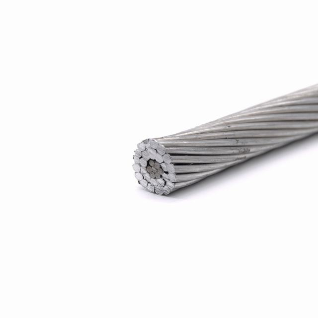 Thermal Resistant Overhead Aluminium Alloy Strand Electric Cable Bare Aluminum Conductor Steel Reinforced ACSR Wire