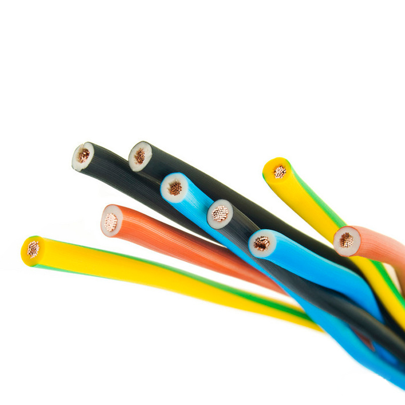 Thhn Thw Thwn Wire 18AWG 16AWG 14AWG 12AWG 10AWG 8AWG Copper Core PVC Insulated Nylon Jacket Electric Wire Cable