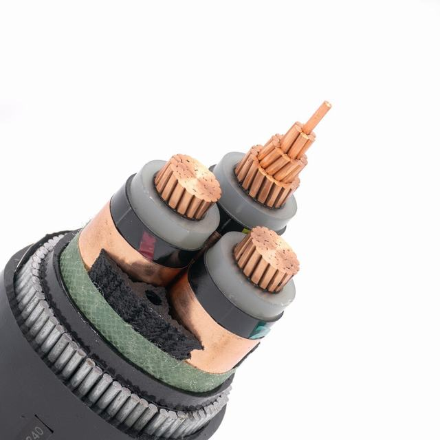 XLPE Insulated 3 Core Copper Conductor Power Cable