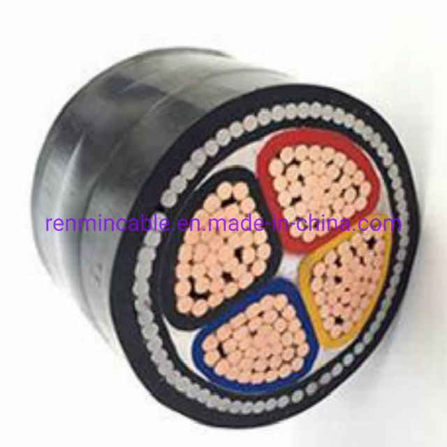 XLPE Insulated, Steel Wire Armoured, PVC Sheathed Power Cables