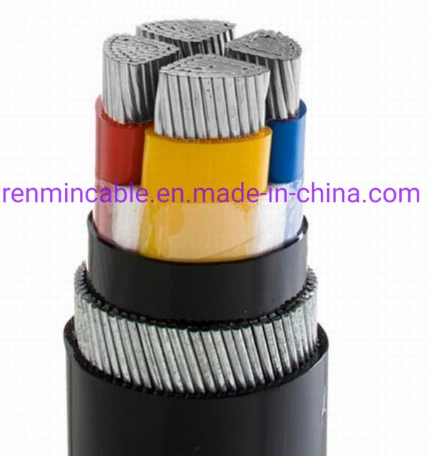 Yjlv22 XLPE Insulated Steel Tap Armored Power Cable