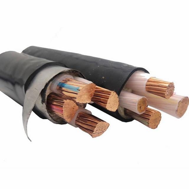 Yjv Copper Conductor PVC Insulated Armoured Cable Electric Power Cable