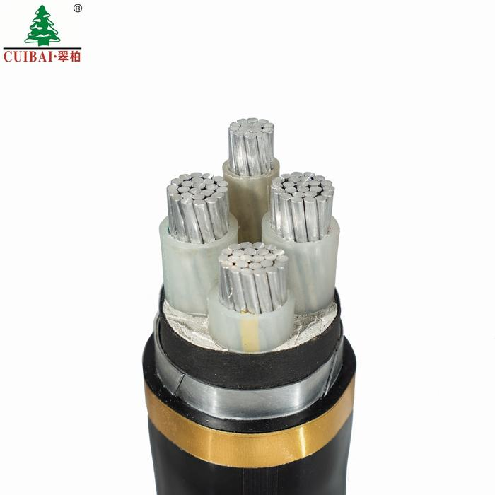 LV XLPE Insulated PVC Sheathed Armoured Aluminum Power Cable