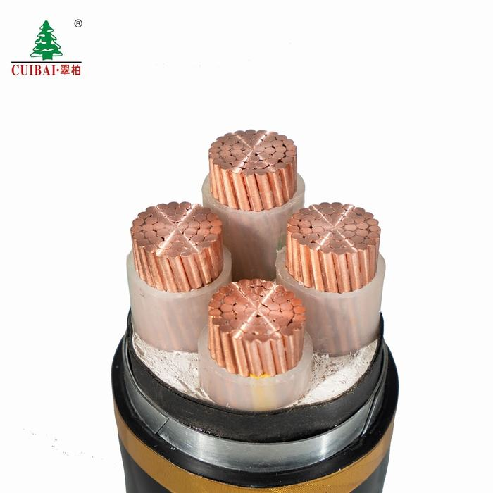 Low Voltage XLPE Insulated High-Purity Copper PVC Sheathed Sta Copper Electric Cable