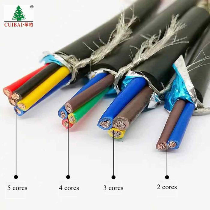 PVC Insulated Sheathed Sta Copper Conductor Electrical Wire Control Cable