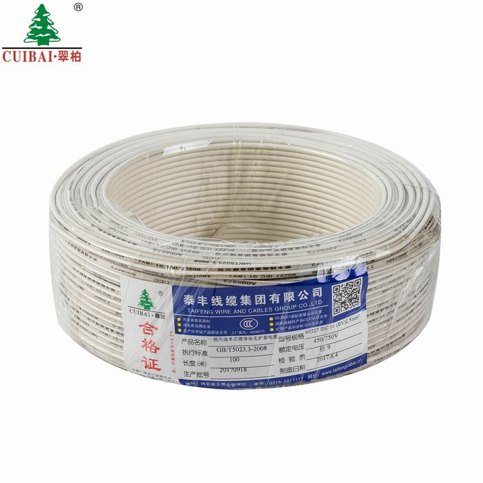 Stranded Copper Zr-BV Flame Retardancy Thermoplastic Insulation XLPE Insulated Home Building Electric Wire