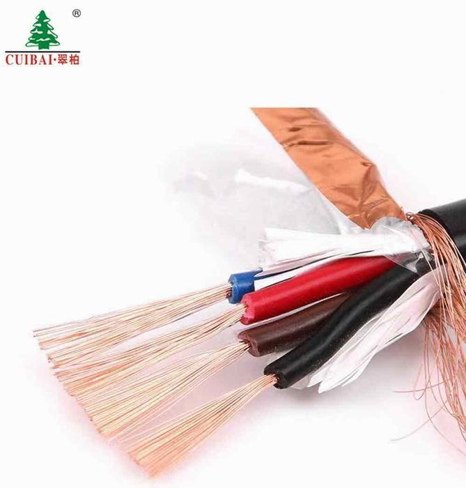 XLPE/PVC Sheathed Copper Braid Shield Flexible Electric Wire Control Power Cable