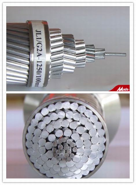 ACSR Conductor, Aluminum Conductor Steel Reinforced Wire Cable for Power Transmission
