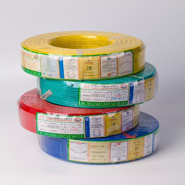 Building Wire 450/750V Copper Wire Aluminum Wire