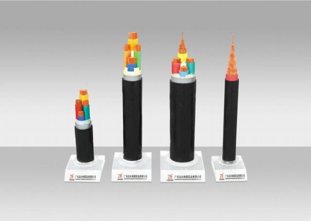 China Factory Fire Resistance PVC Insulation Power Cable