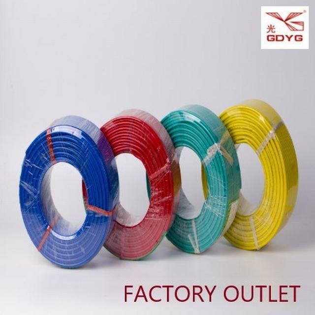 Copper/Aluminum Conductor PVC Insulated PVC Sheathed Electrical Wire Cable for Home and Office