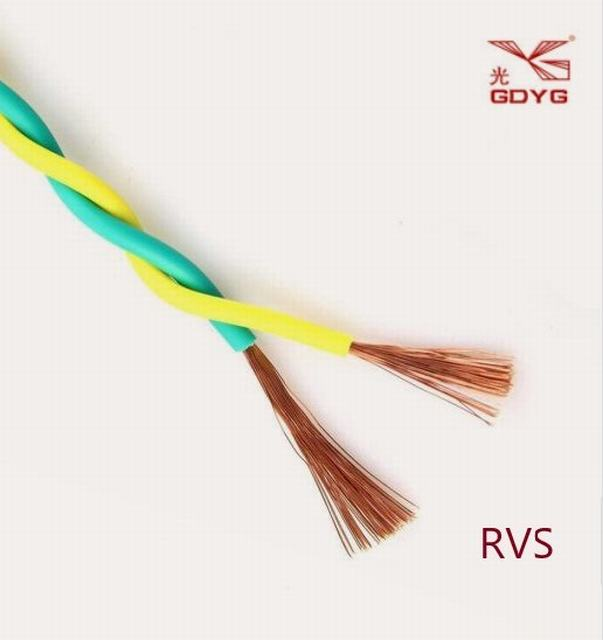 Copper Conductor PVC Insulated Electric Wire for Building