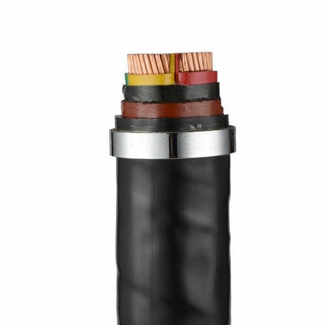 Low Voltage Copper/Aluminum Conductor PVC Insulated PVC Sheathed Power Cable
